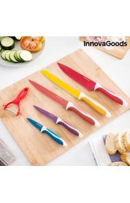 6 delni set nožev s keramično prevleko