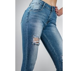Jeans hlače Ms Push-up