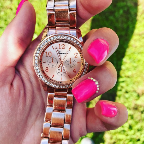 Ura Geneva rose gold